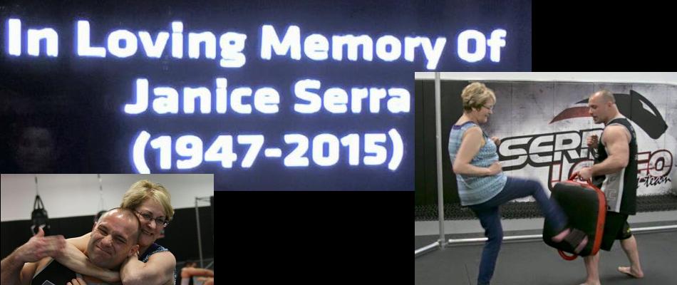 UFC pays tribute to Matt Serra's mother Janice at UFC 195