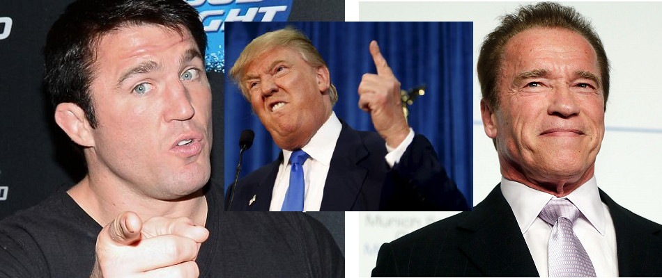 Chael Sonnen casted on new season of Celebrity Apprentice, hosted by Arnold Schwarzenegger