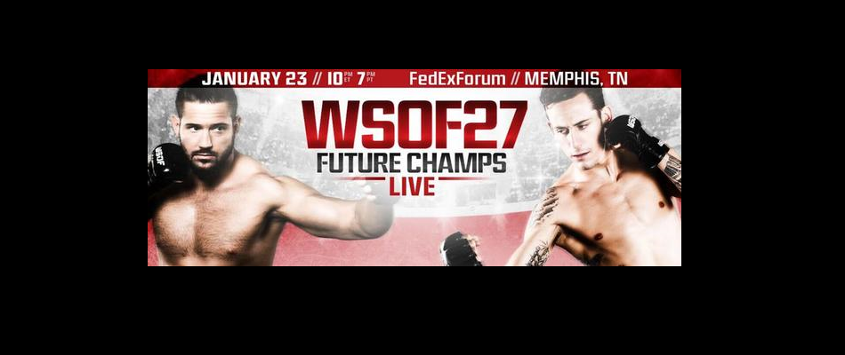 WSOF 27: Two New Bouts Complete Main Card For January 23