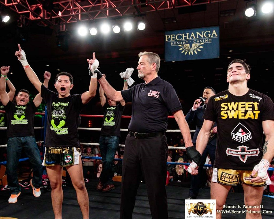 IKF overturns Lion Fight 27 bout to victory for Bolanos
