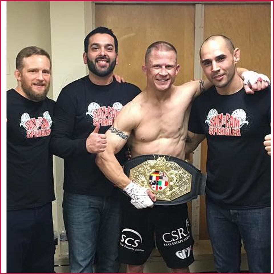 Strikeforce Veteran Sam Spengler Wins Dragon House MMA Welterweight Championship