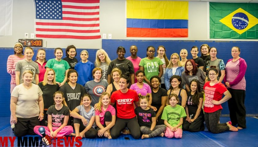UFC fighter holds self-defense seminar for women in Poconos