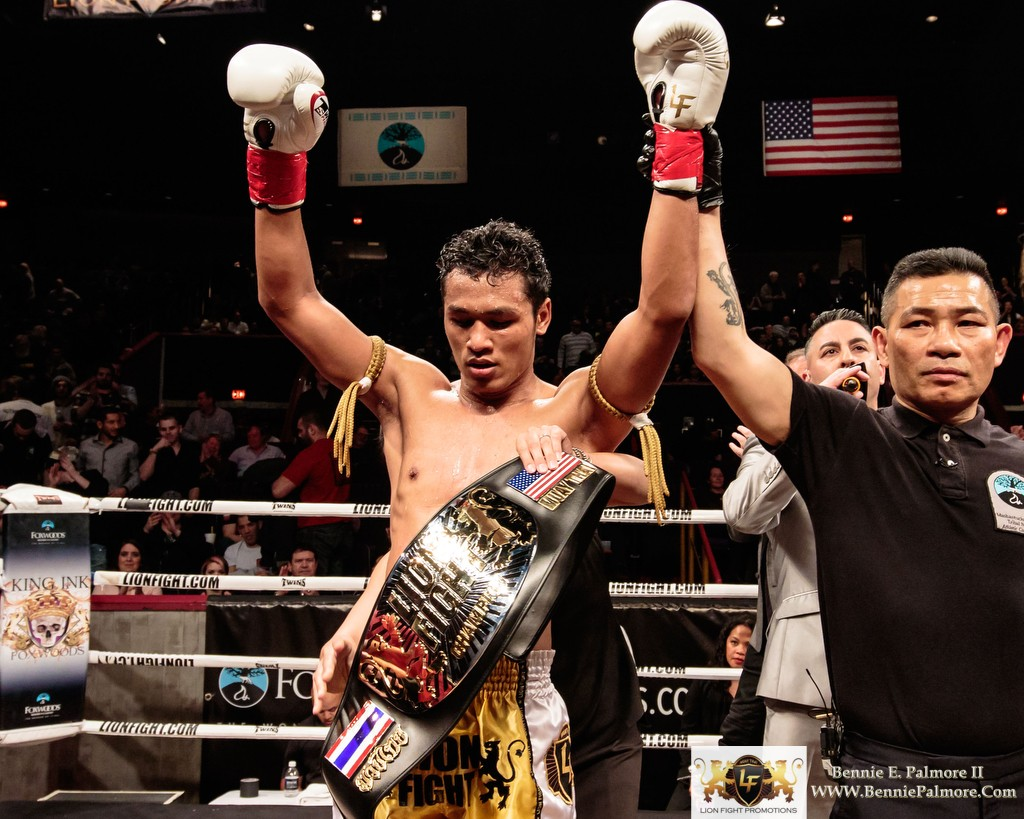 Lion Fight 29 coming to Foxwoods with Nattawut vs Yodpayak