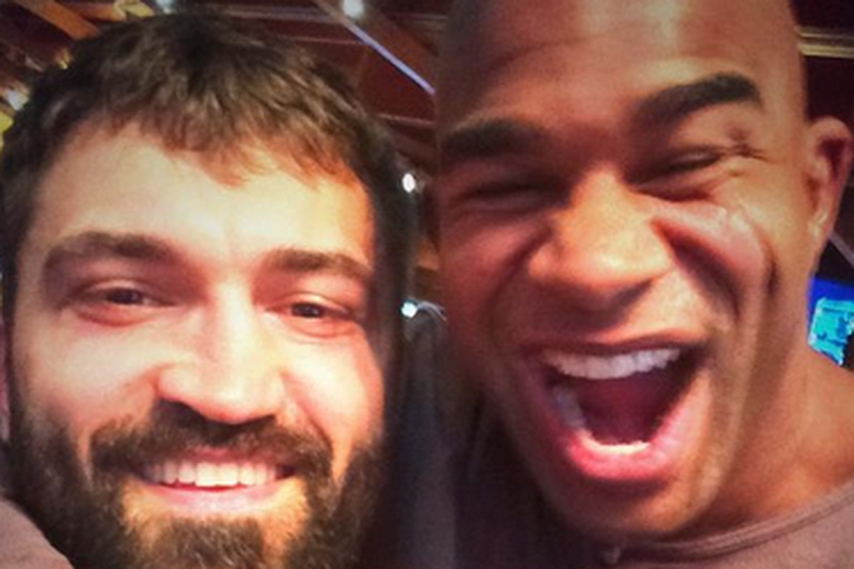 Andrei Arlovski and Alistair Overeem