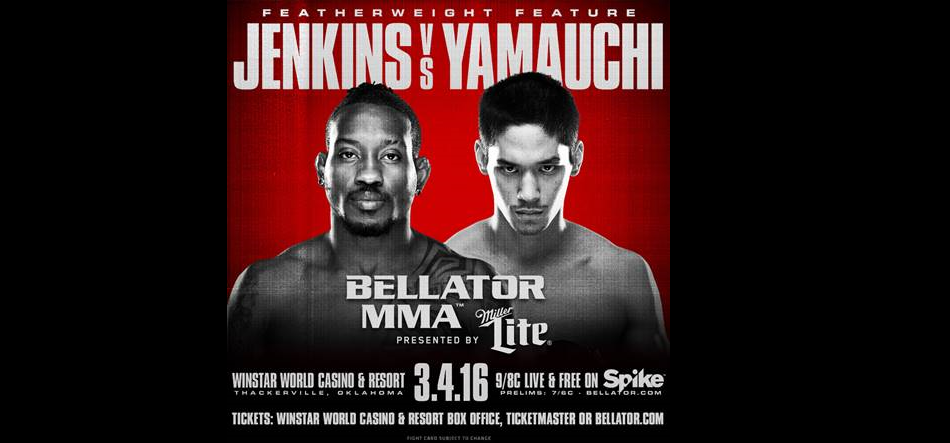 Bellator 151 gets great featherweight matchup in Jenkins vs. Yamauchi