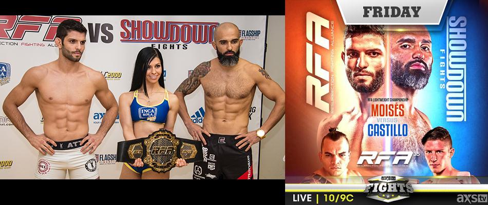 RFA vs. Showdown Fights at RFA 35 TONIGHT 10/9c
