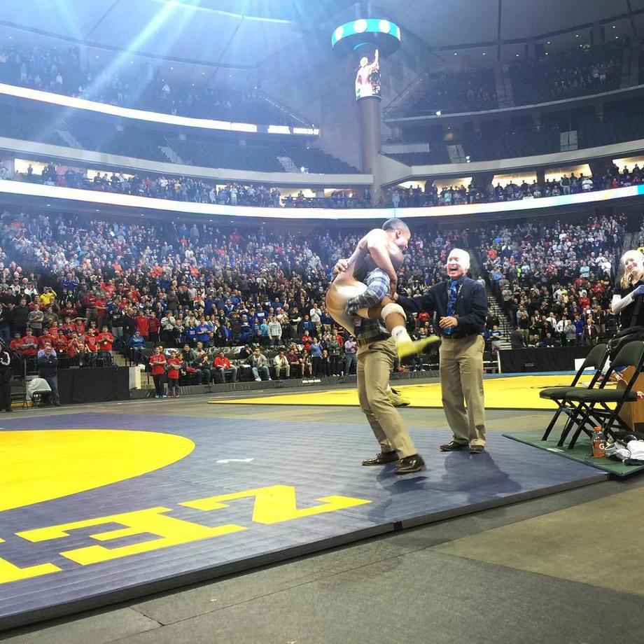 Mark Hall of Apple Valley Wins Record Sixth Minnesota HS Wrestling State Title
