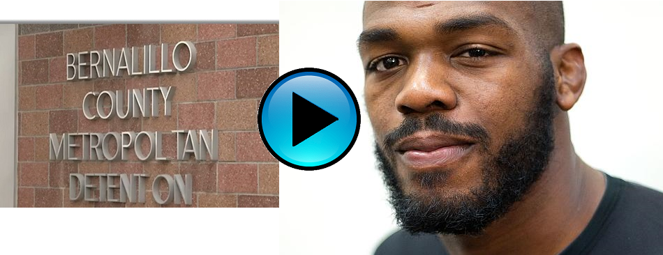 Jon Jones talks to inmates
