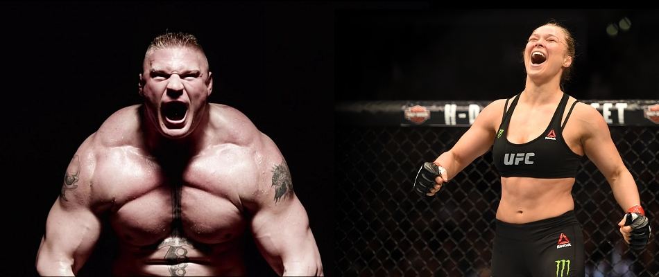 Brock Lesnar to Ronda Rousey: Learn to lose before you win