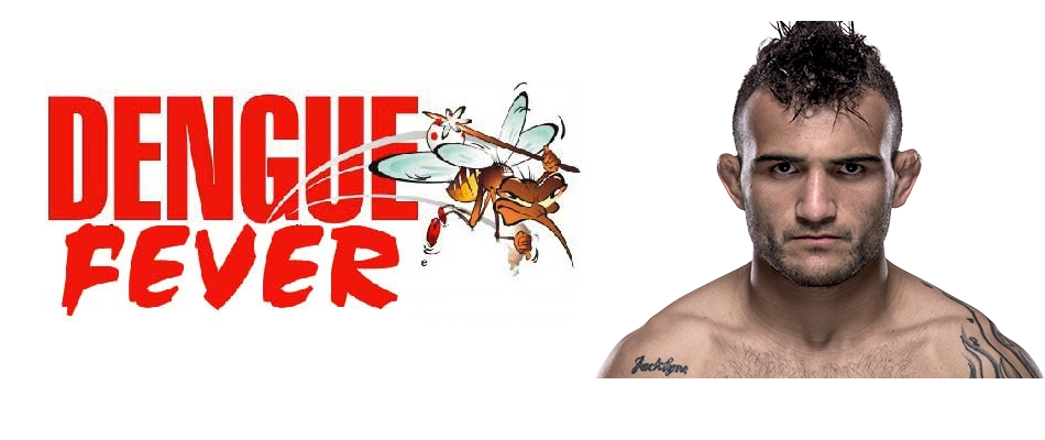 John Lineker contracts Dengue Fever from mosquito, UFC Pittsburgh fight with Cody Garbrandt scratched