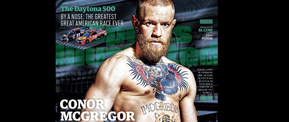 Conor McGregor lands cover of Sports Illustrated