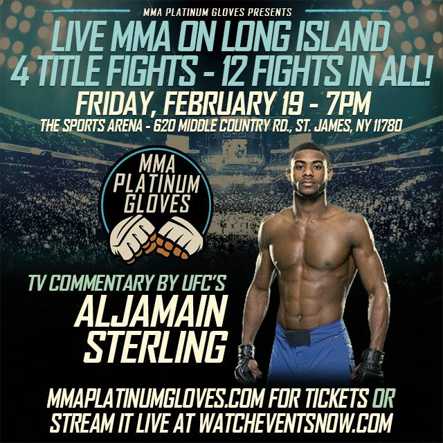 MMA Platinum Gloves Signs Aljamain Sterling as TV Commentator