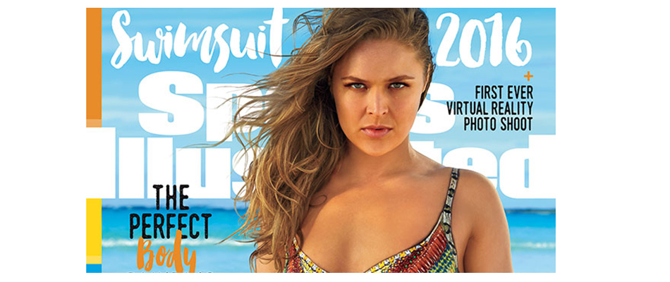 Ronda Rousey lands Sports Illustrated Swimsuit cover