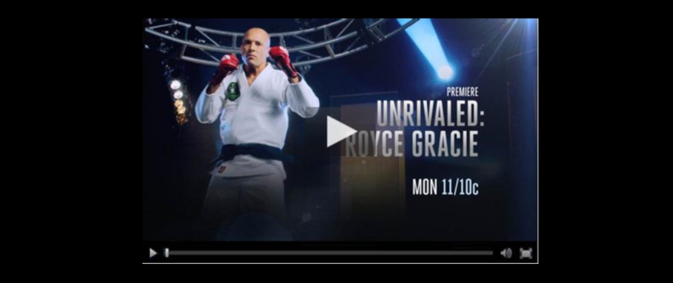 """Unrivaled: Royce Gracie"" airs tonight on Spike"