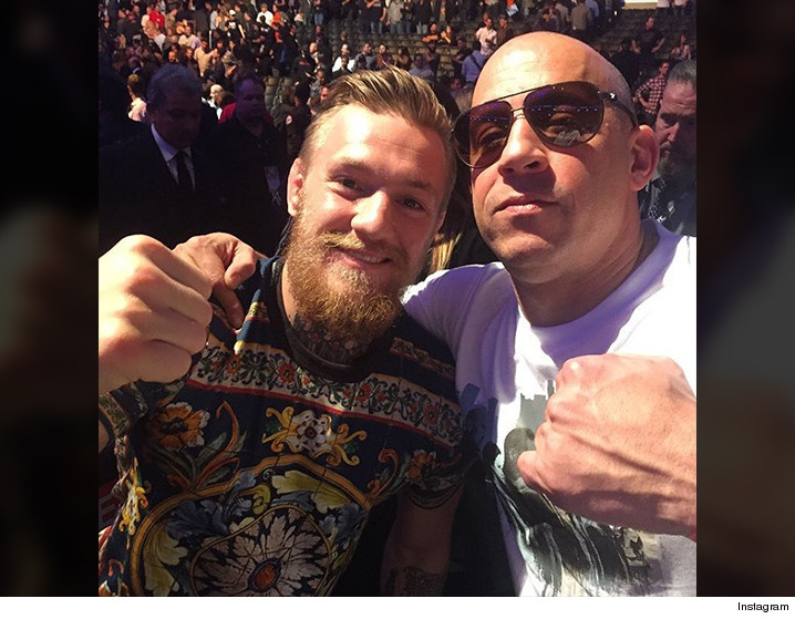 Conor McGregor cancels plans for XXX sequel with Vin Diesel