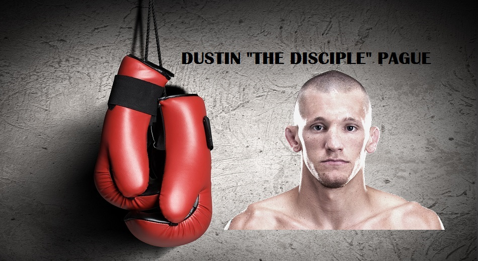 Dustin Pague boxing