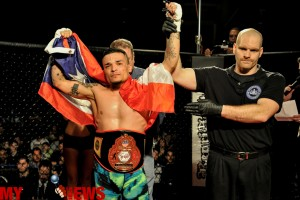 Mike Serrano wins at WCC 16