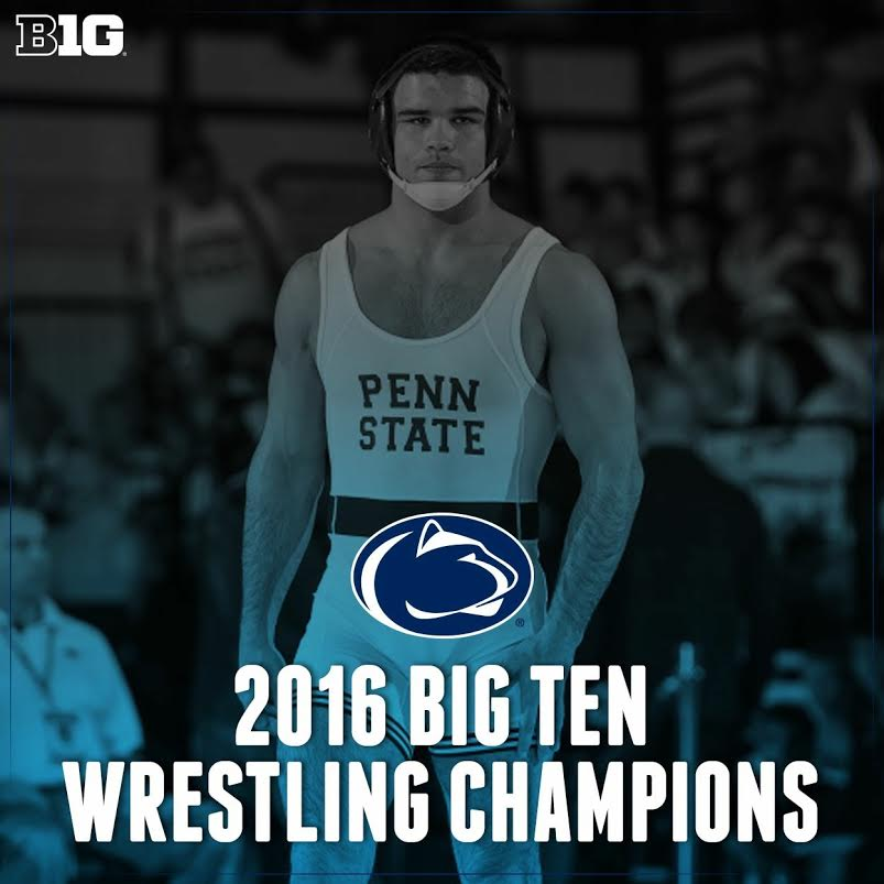 Penn State Makes Statement at Big Ten Wrestling Championships