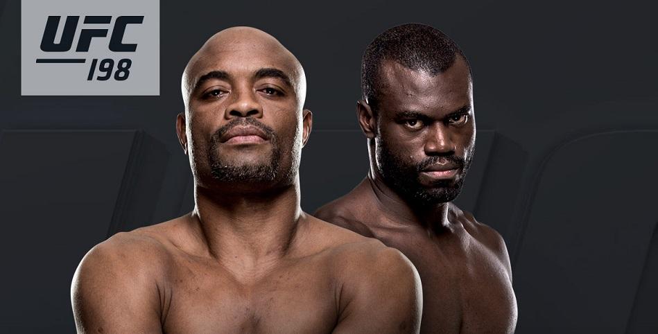 Uriah Hall faces Anderson Silva at UFC 198