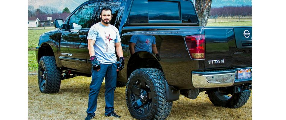 MMA fighter arrested - Aaron Garcia