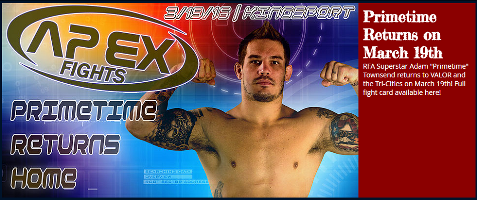 APEX Fights 10 Results: Adam Townsend vs. Justin Hartley