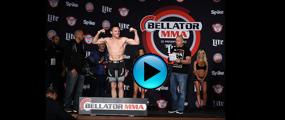 WATCH:  Bellator 151: Warren vs. Caldwell weigh-ins today 6pm EST