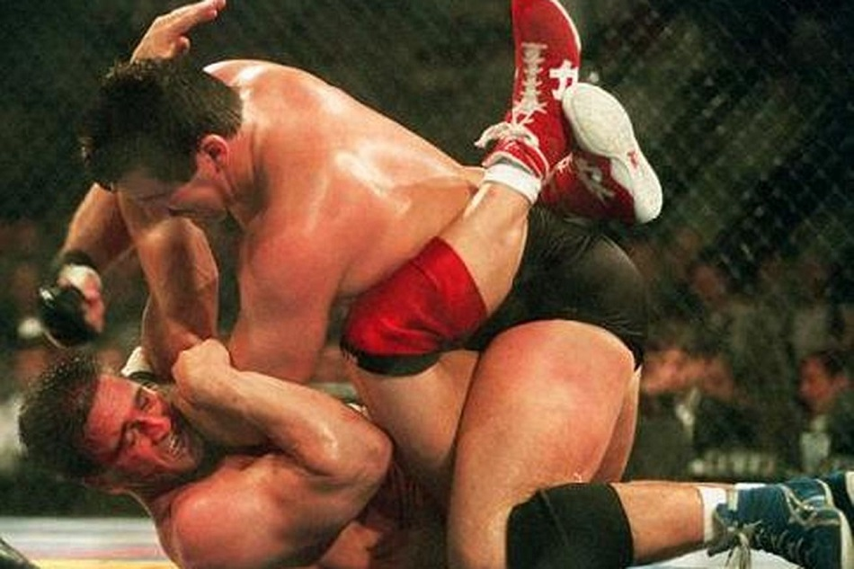 Dan Severn vs Ken Shamrock