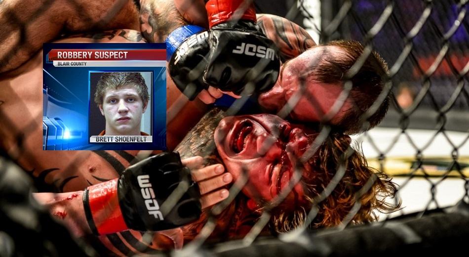 Pro MMA fighter, Brett Shoenfelt, jailed after alleged assault on woman