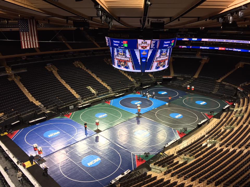 NCAA D1 Wrestlers Press Conference at Madison Square Garden