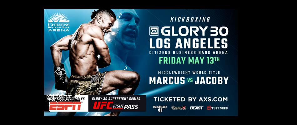 Simon Marcus vs. Dustin Jacoby Headlines GLORY 30 Los Angeles