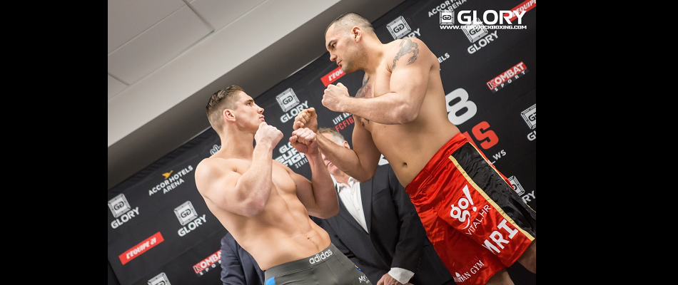 GLORY 28 Paris & GLORY SuperFight Series Paris Weigh-in Results
