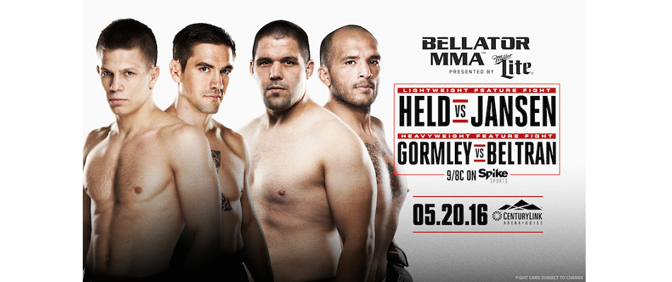 Two New Bouts Complete Main Card of 'Bellator 155' on May 20