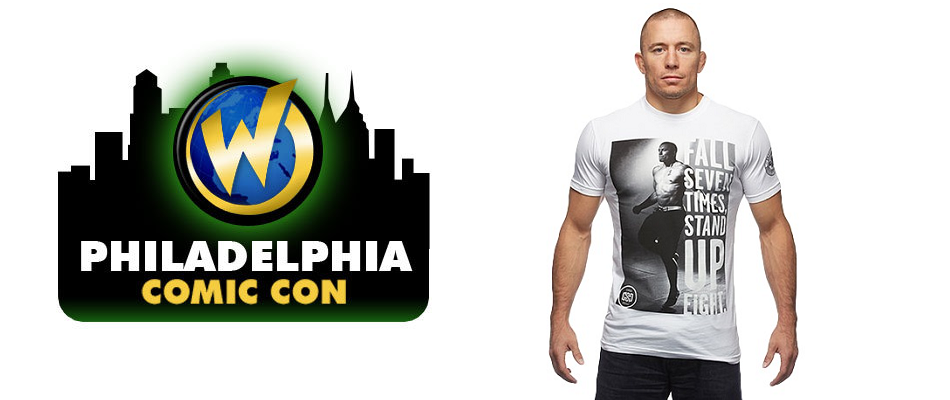 Georges St-Pierre to Attend Wizard World Philadelphia – June 5