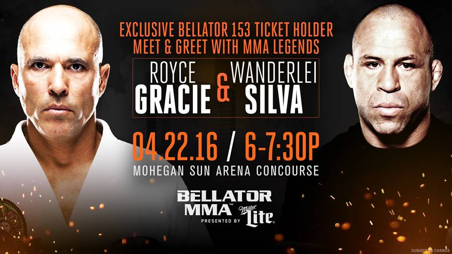 Meet Royce Gracie and Wanderlei Silva Before Bellator 153