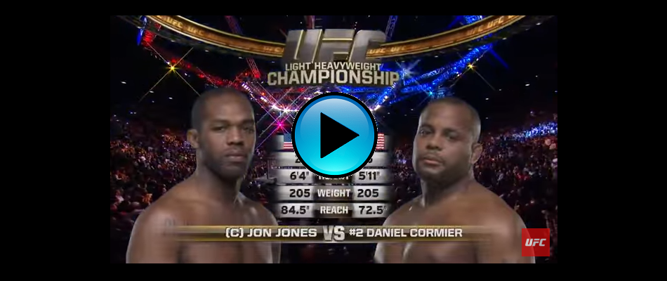FREE FIGHT:  Jon Jones vs Daniel Cormier