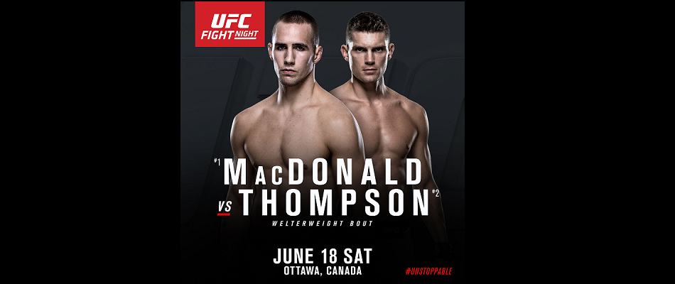 UFC's Ottawa Debut Completely Sold Out