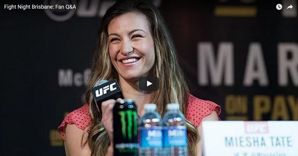 WATCH:  UFC Q&A with Miesha Tate, Bermudez & Whittaker