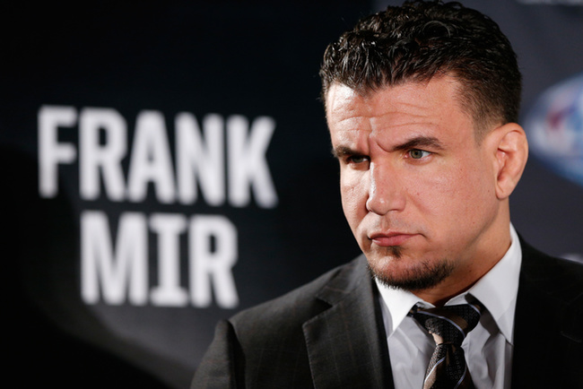 Frank Mir suspended two years after positive tests for prohibited substance, eligible to return April 2018