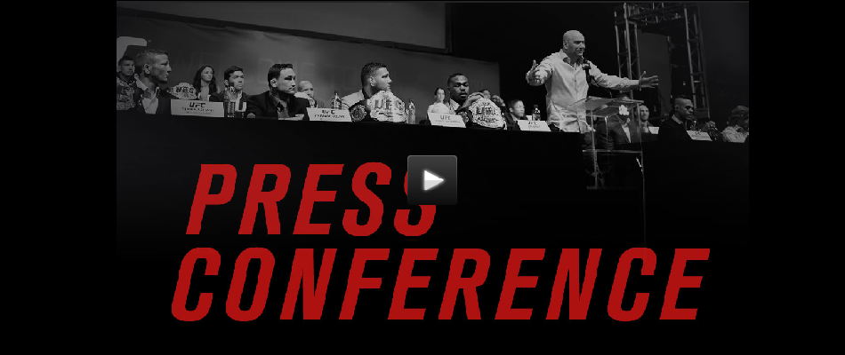 WATCH:  UFC 196 Pre-Fight Press Conference – Today 4pm EST