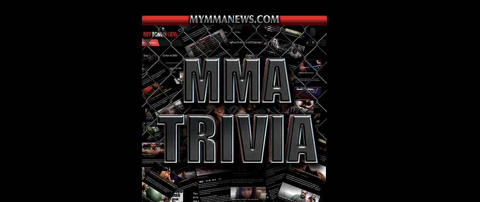 MMA TRIVIA: How Much Do You Know About MMA?