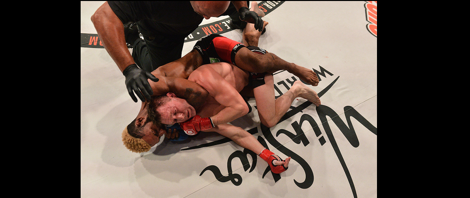 Darrion Caldwell suplexes, chokes his way to victory at Bellator 151
