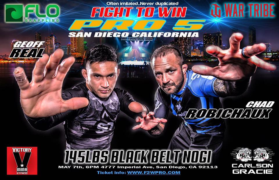 Chad Robichaux Talks Pro Jiu-jitsu Match at Fight to Win Pro 5