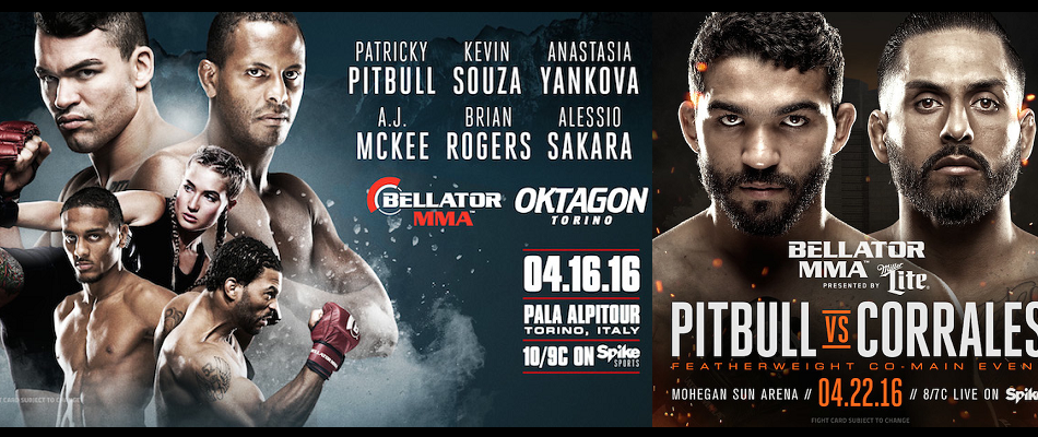 "The 'Pitbull Brothers"" Receive New Opponents at Bellator 152 & Bellator 153"