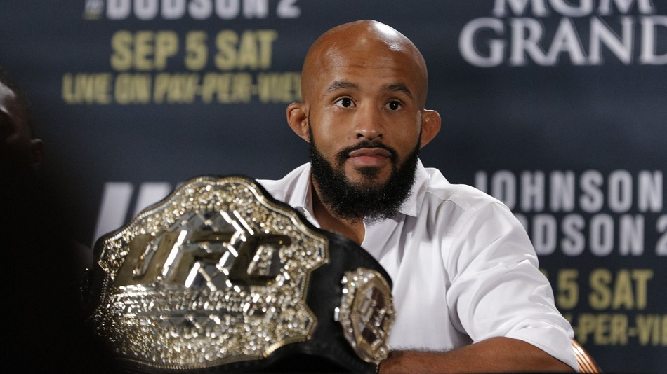 The Ultimate Fighter winner was to face Demetrious Johnson