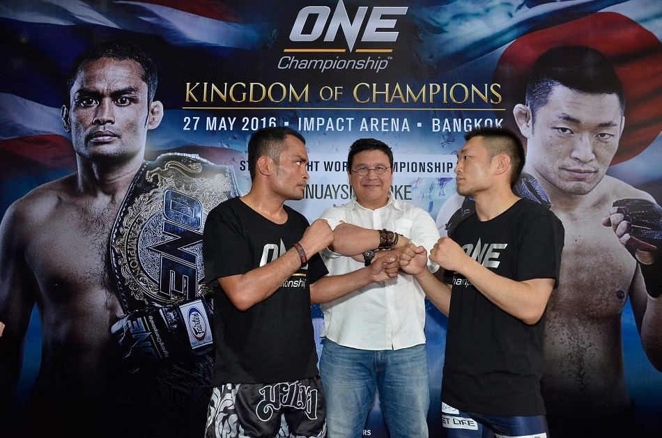 ONE: Kingdom of Champions Media Day Held at Bangkok Fight Lab