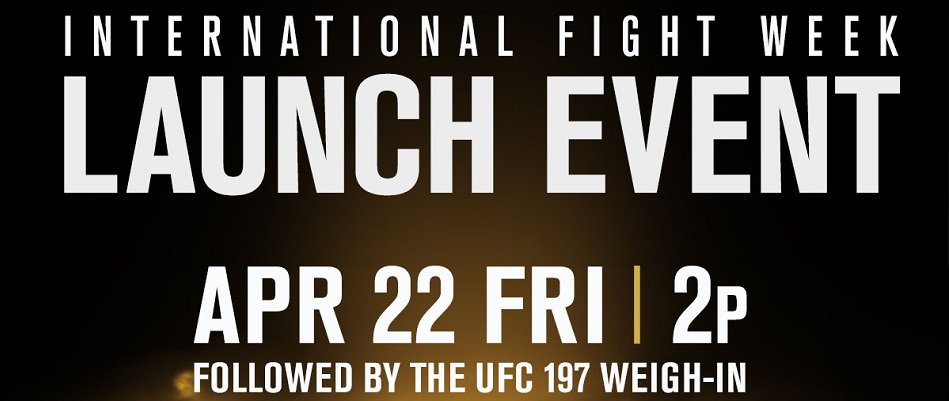 Stars of International Fight Week At Presss Event Friday
