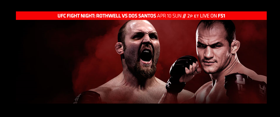 UFC Fight Night Zagreb results:  Dos Santos vs Rothwell
