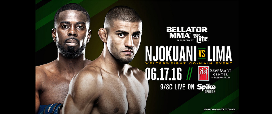 Bellator 156 Receives Co-Main Event Matchup Pitting Lima vs. Njokuani