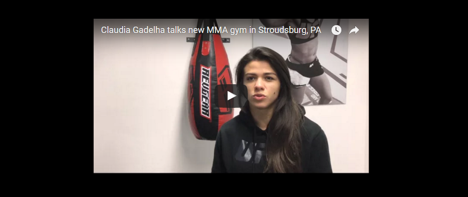 Claudia Gadelha talks new gym and fight with Joanna on TUF 23 set