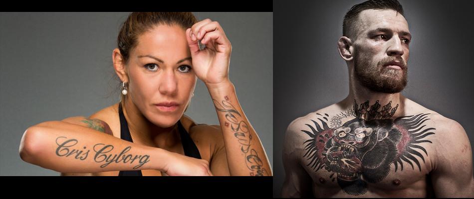 Cyborg believes Conor McGregor helped get her in UFC